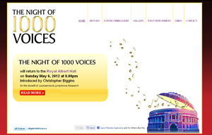 The Night of 1000 Voices - official site
