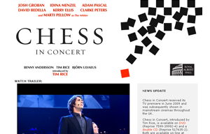 Chess in Concert - official site