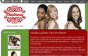 Mashooq website
